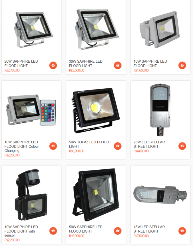 led outdoor lights india